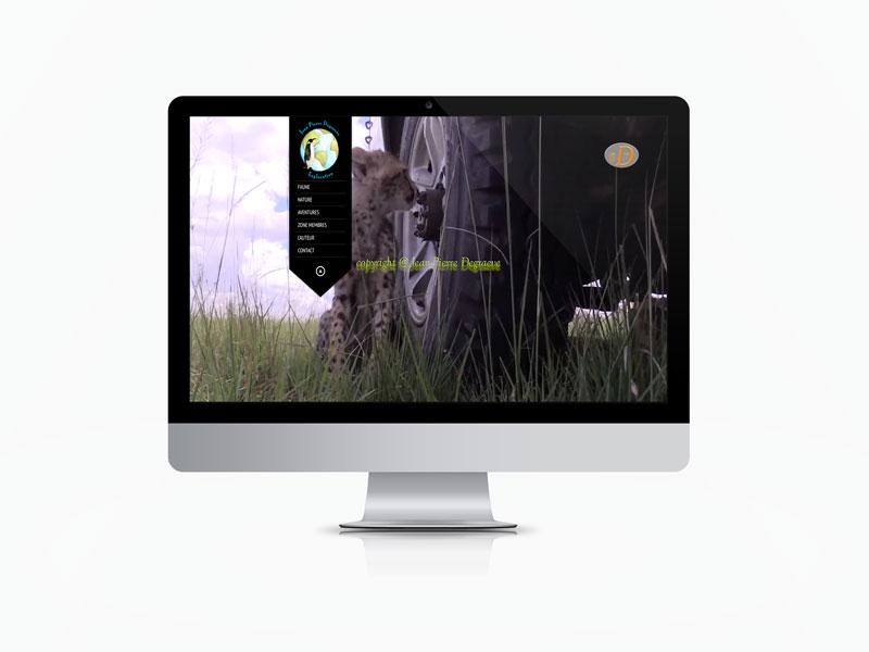 Creation site web vidéo amateurs